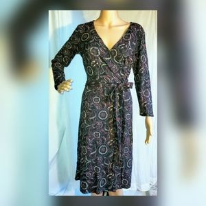 Ann Taylor Loft Paisley dress size 6